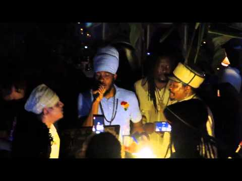 Kingston Dub Club - Rockers Fambily ls. Luciano, Mickey General & friends (Jamaica 17.11.13)