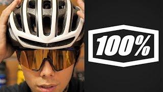今話題のロードバイク用サングラス 100% SpeedCraft「3つのいいところ」と「1つの気になるところ」