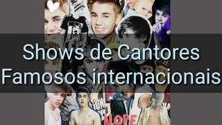 Show do Cantor Justin Bieber Abertura (No Sense)