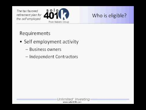 How Does A Solo 401k Differ From Self Directed IRA?