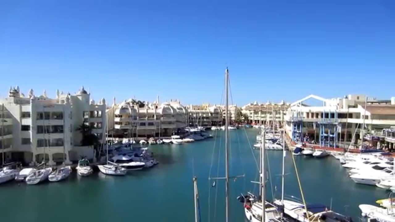 Puerto marina benalmadena malaga spain youtube - Fotos de benalmadena costa ...