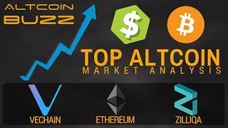 Top Altcoin Analysis - Bitcoin, Ethereum, Zilliqa, Vechain!