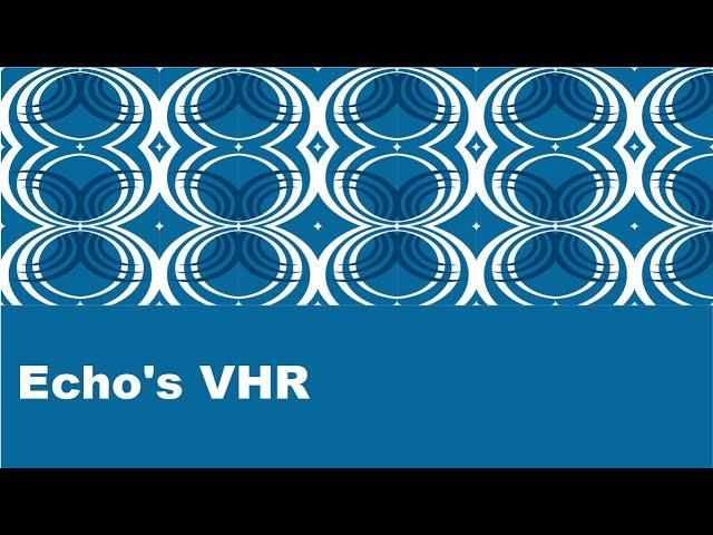 Echo's VHR: The best EHR for Behavioral Health
