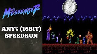 The Messenger | Any% (16-Bit) / Full Game Speedrun | World Record 9/1/2018 But It's Disgusting