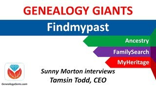 Findmypast.com and FamilySearch family tree synchronization (Genealogy Giants)