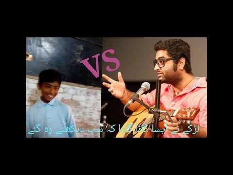 Pakistani Singing Talent_ Best ever singing _ By Street Talent Globe
