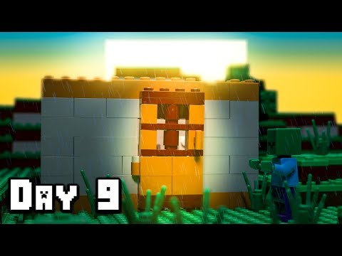 LEGO Minecraft Survival Day 9 (Stop Motion Animation)