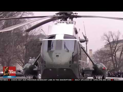 You're Fired: President Trump Escorts Obama out of the White House!!!