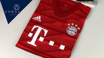 FC Bayern München Home Jersey 'Season 2019/2020' | UNPACKING | football jersey | 2019