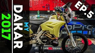 My Dakar 2017 | HOW I BUILT MY BIKE? | GoPro Webseries