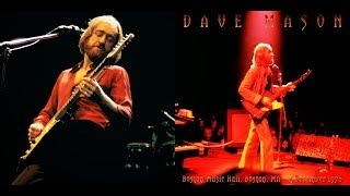 Dave Mason- Boston Music Hall, Boston, Ma 12/4/76