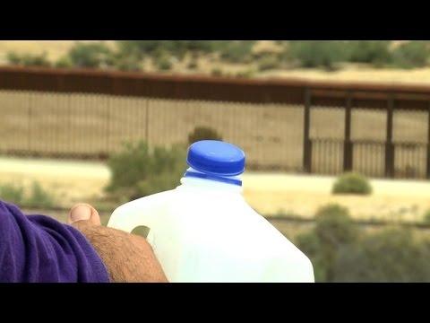 USA: de l'eau dans le désert pour aider les sans-papiers