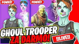 GHOUL TROOPER ZA DARMO * CUSTOMY / LATE * LIVE W FORTNITE | hajTv - Na żywo