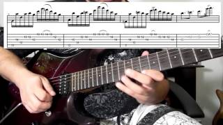 Cacá Barros - Solo Of The Week #1 FREE Tabs and Backing Track