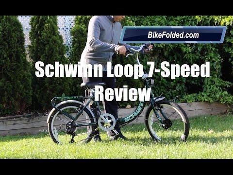 Schwinn Loop 7 Speed Folding Bike Review Youtube