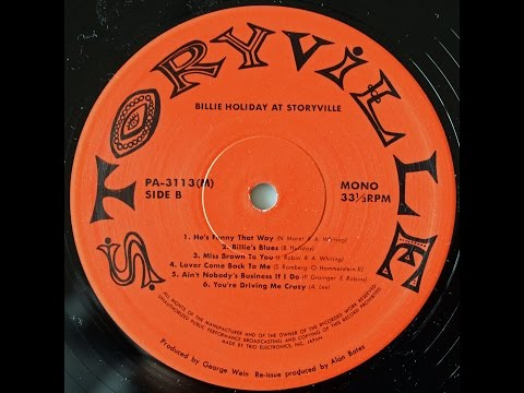 Billie Holiday at Storyville -B