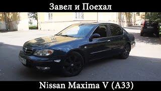 Тест драйв Nissan Maxima V A33 (обзор)