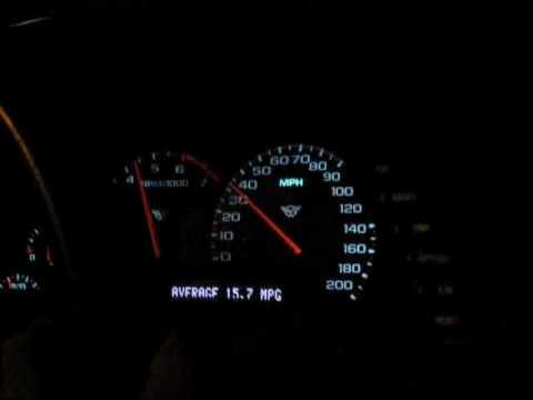 Bone Stock 2002 C5 Corvette 0 60 Mph
