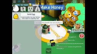 Mi Primer Huevo de Oro!!| Bee Swarm Simulator| Roblox