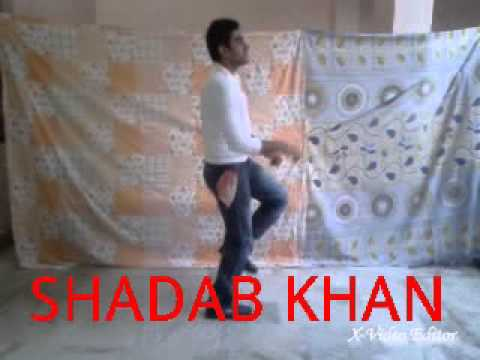 Shadab Khan Choreograph Gulaabi Song Youtube