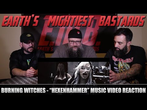 Music Video Reaction: BURNING WITCHES -