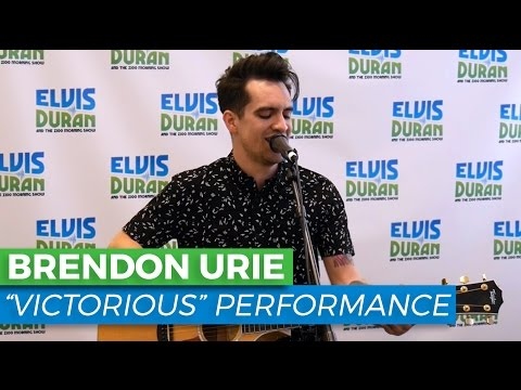 "Brendon Urie - ""Victorious"" Acoustic 