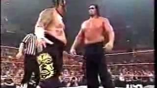 WWE John Cena vs The Great Khali vs Umaga WrestleMania