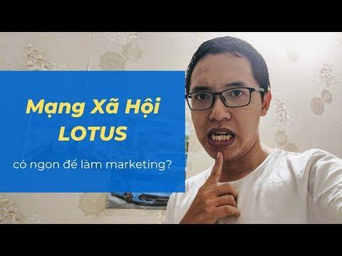 Review mạng xã hội Lotus - Cơn bão gần đây tại Việt Nam