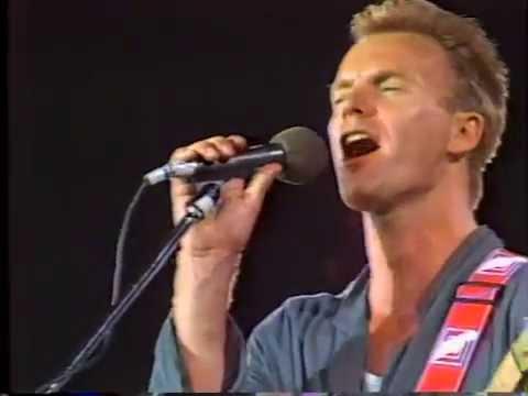 Sting - Roxanne (Live '85)