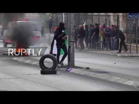State of Palestine: Fierce clashes erupt on streets on Bethlehem