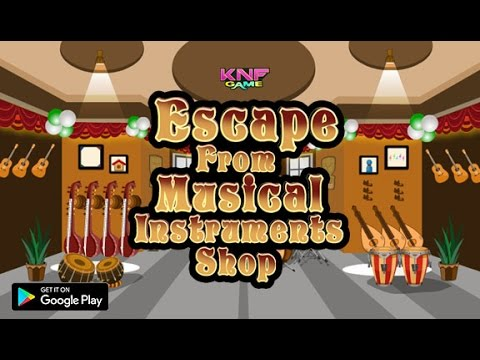 Knf Escape From Musical Instruments Shop walkthrough