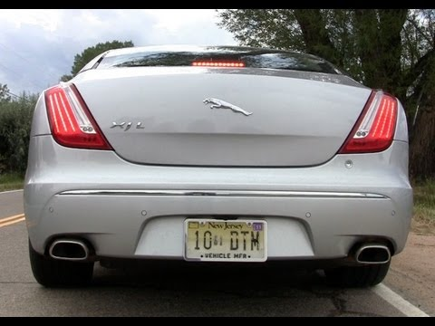 2011 Jaguar XJL 0-60 MPH first drive review