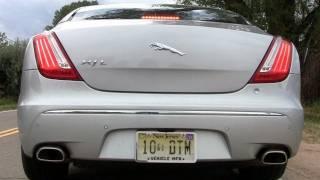 2011 Jaguar XJL 0-60 MPH first drive review