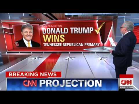 CNN Projects First states in Super Tuesday