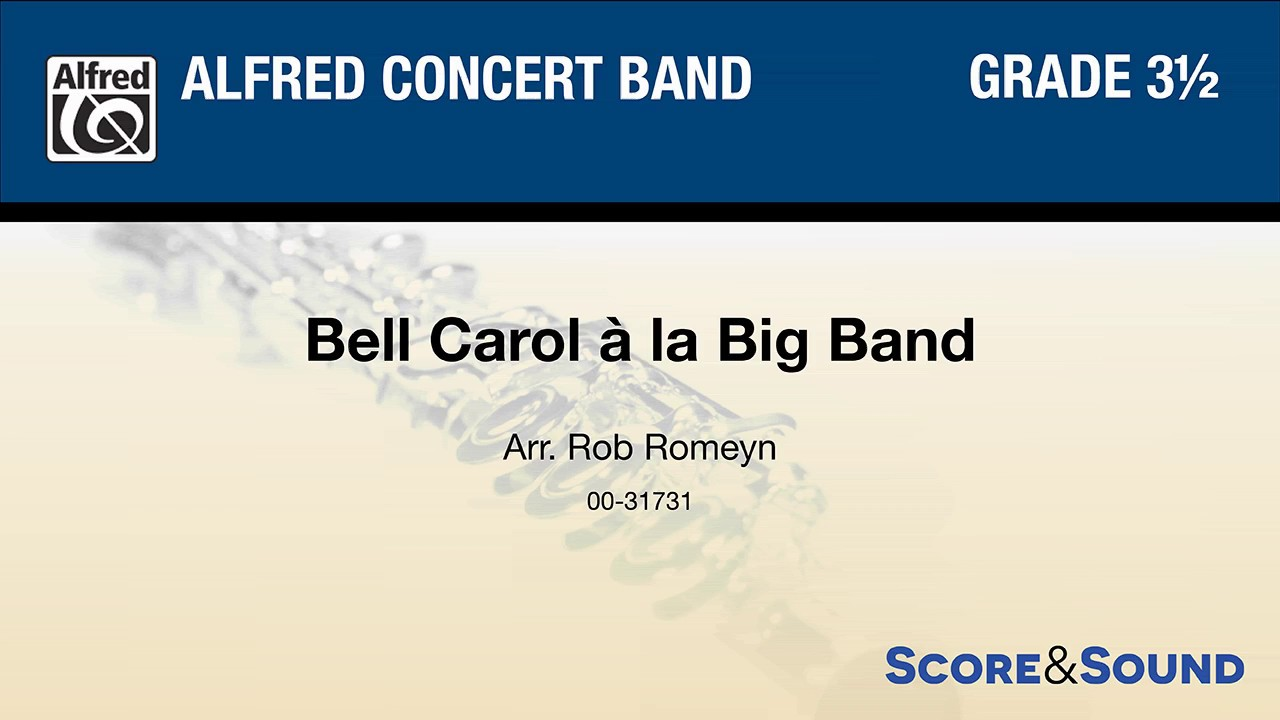 Bell carol a la big band arr. rob romeyn pdf