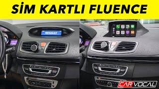 Renault Fluence Sim Kartlı Multimedya Sistemi Montaj ve Tanıtım