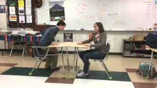 Speed dating in Spanish with Rachael