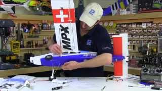 Multiplex Pilatus PC-6 Turbo Porter RR Assembly and Setup