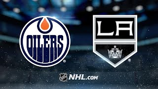 Oilers hold on to beat Kings, snap skid in LA
