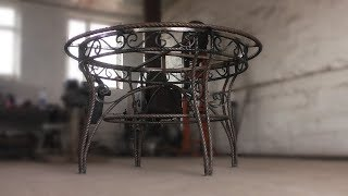 видео Металлические столы