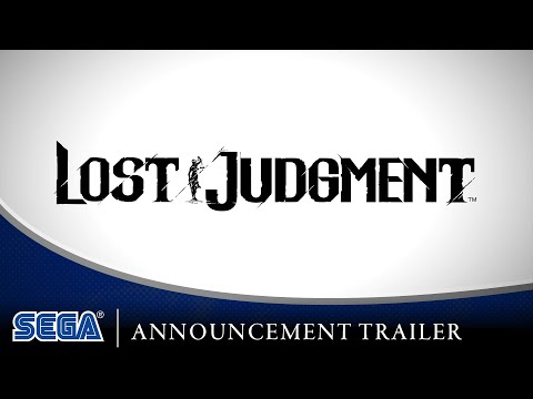 Lost Judgment   Announcement Trailer [FR]
