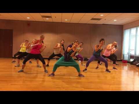 """RUN IT"" Chris Brown - Dance Fitness Workout Valeo Club"