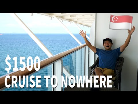 Inside a $1,500 Cruise to Nowhere | 3D2N Palace Suite on World Dream Cruise Singapore