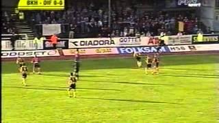 Allsvenskan 2001: BK Häcken - Djurgårdens IF