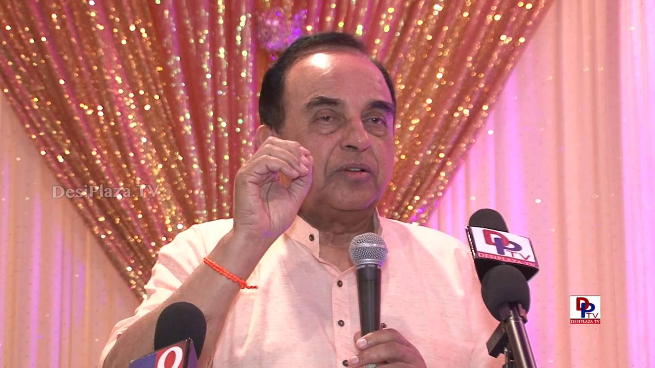 Full Speech - Dr.Subramanian Swamy giving his speech at GHHF sponsored event in Dallas.