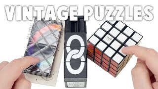 Unboxing More Vintage Puzzles From Drew Brads!
