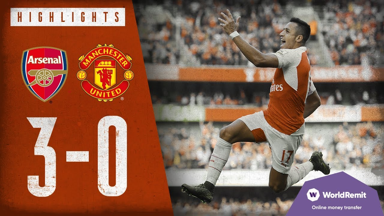 Download A SCREAMER FROM ALEXIS SANCHEZ!   Arsenal 3-0 Manchester United   Classic highlights   2015
