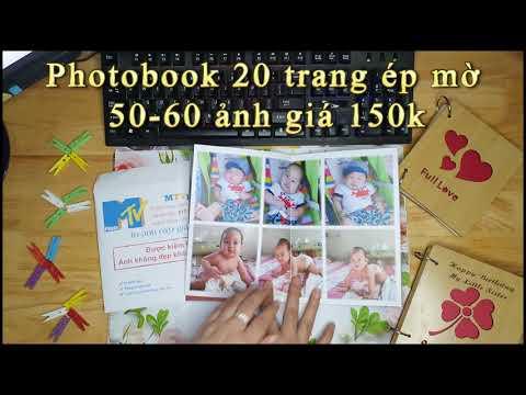 Làm photobook đẹp giá rẻ 150k