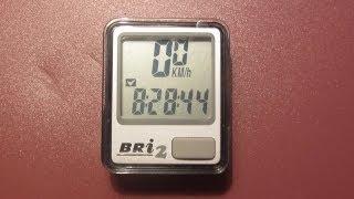 Велокомпьютер ECHOWELL BRI-2(Хороший, качественный и недорогой велосипедный компьютер. В подписи - характеристики, ссылки и цена ↓..., 2013-09-28T17:07:29.000Z)