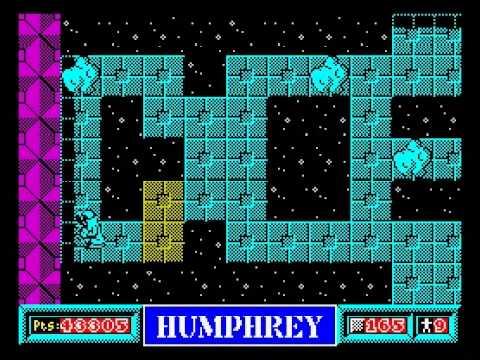 Humphrey Walkthrough, ZX Spectrum